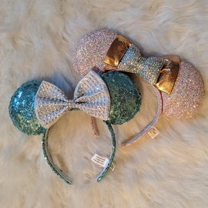 Bundle of two Minnie mouse ears